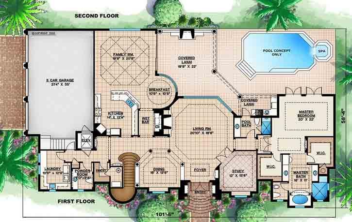 Main Floor Plan: 55-145