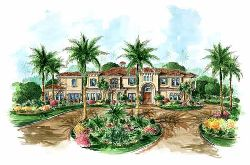 Mediterranean Style House Plans Plan: 55-150