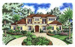 Mediterranean Style Floor Plans Plan: 55-156