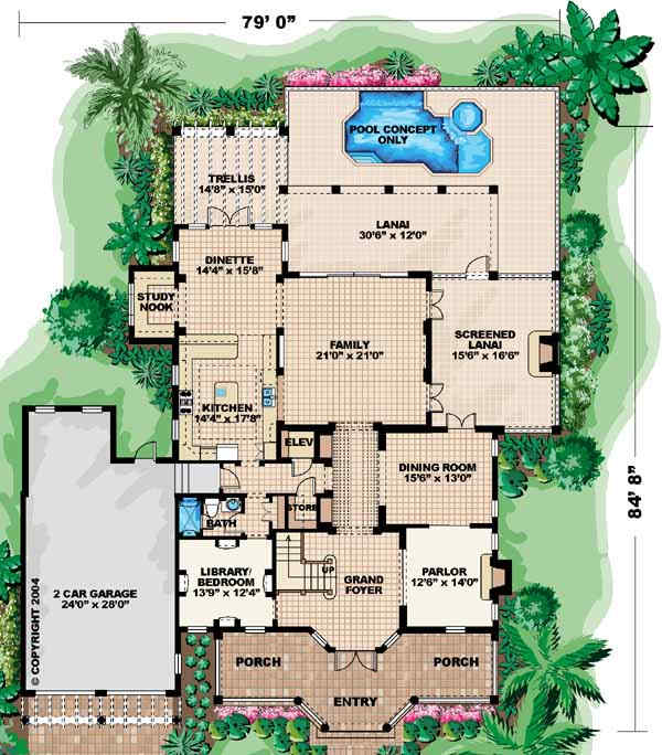 Main Floor Plan: 55-158