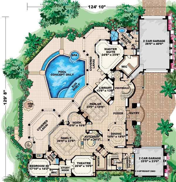 Main Floor Plan: 55-174