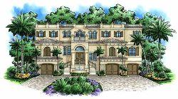 Mediterranean Style Floor Plans Plan: 55-179