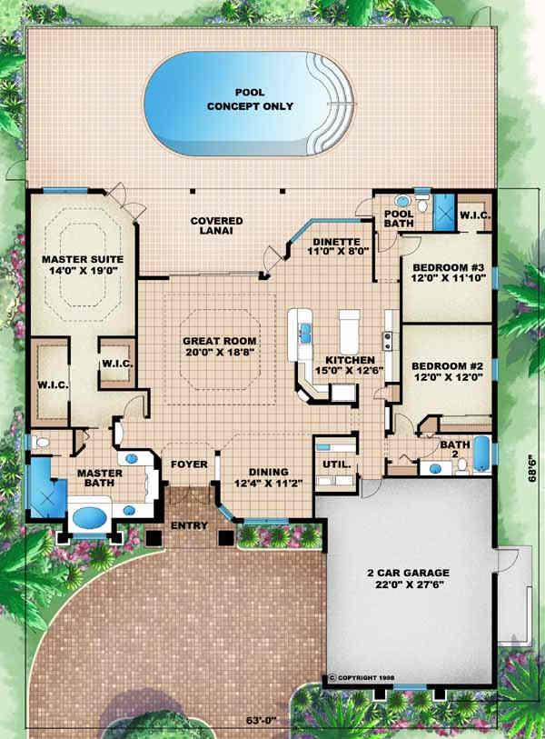 Main Floor Plan: 55-187