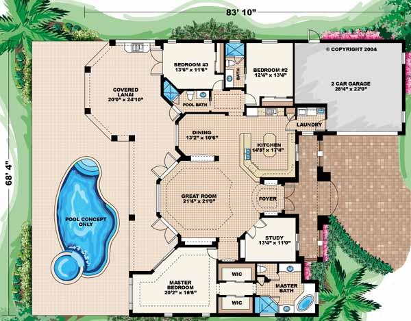 Main Floor Plan: 55-191