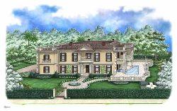 Mediterranean Style Home Design Plan: 55-217