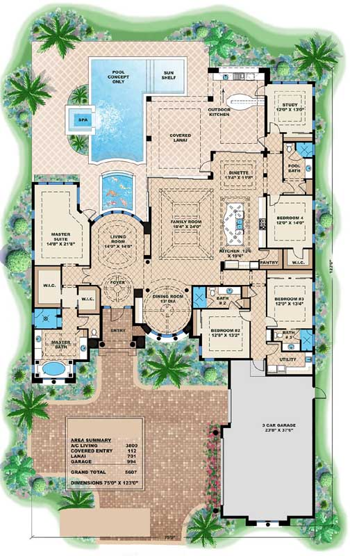 Main Floor Plan: 55-232