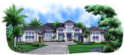 Coastal Style Floor Plans Plan: 55-233