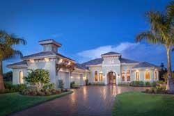 Italian Style Home Design Plan: 55-235