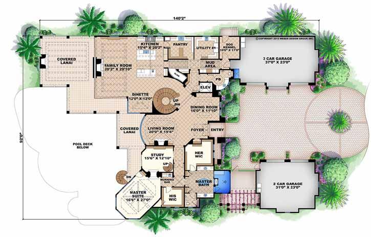 Main Floor Plan: 55-240