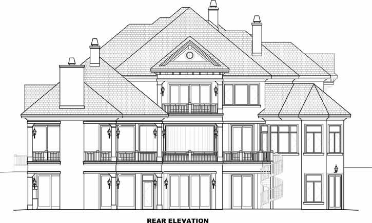 Rear Elevations Plan:55-240