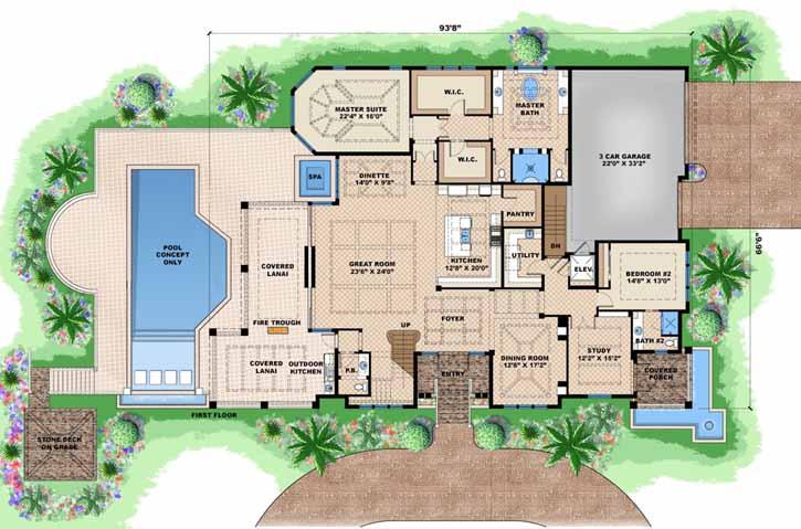 Main Floor Plan: 55-241