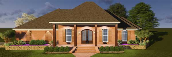 Southern Style House Plans Plan: 56-178