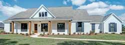 Modern-Farmhouse Style Home Design Plan: 56-200