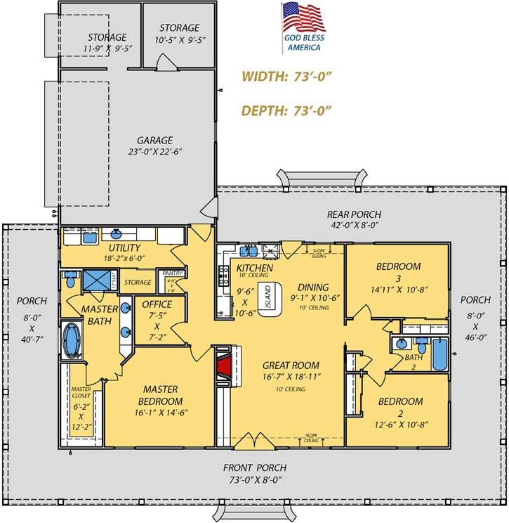 Main Floor Plan: 56-213