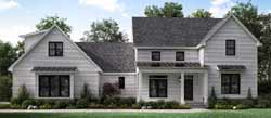 Modern-Farmhouse Style Floor Plans Plan: 56-217