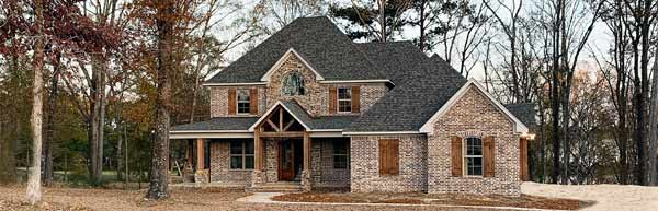 Traditional Style House Plans Plan: 56-225