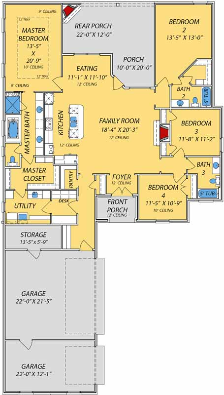 Main Floor Plan: 56-226