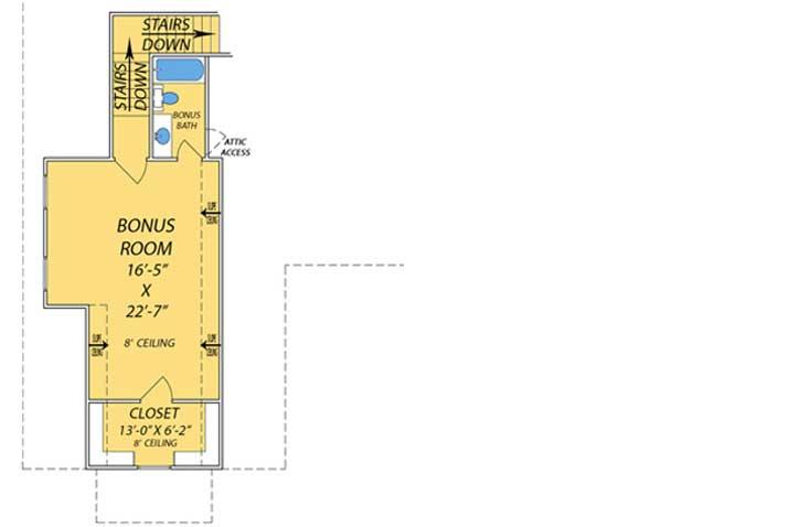 Bonus Floor Plan: 56-232