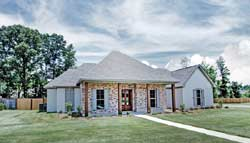 Country Style Home Design Plan: 56-234