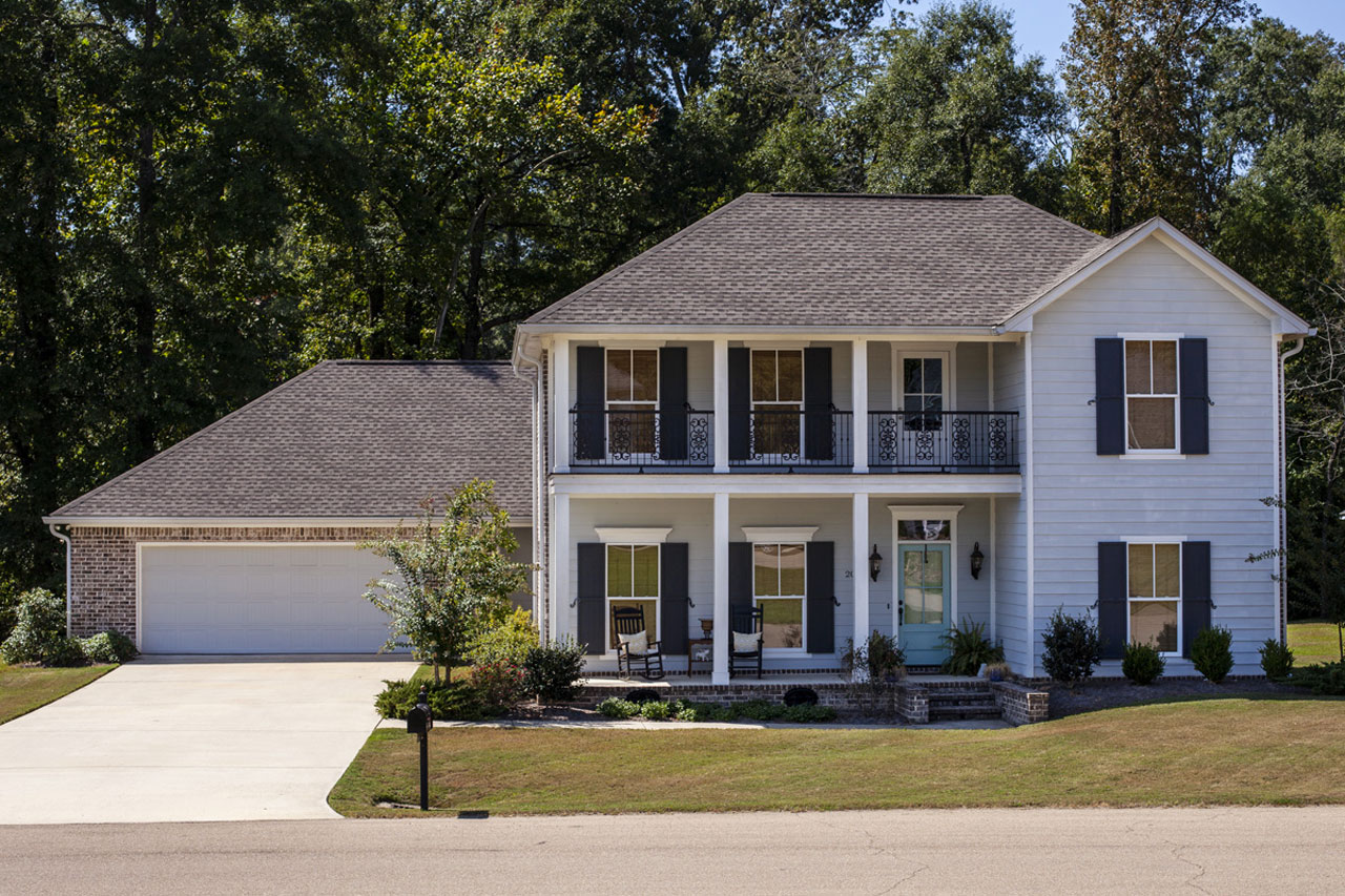Southern Style Home Design Plan: 56-237