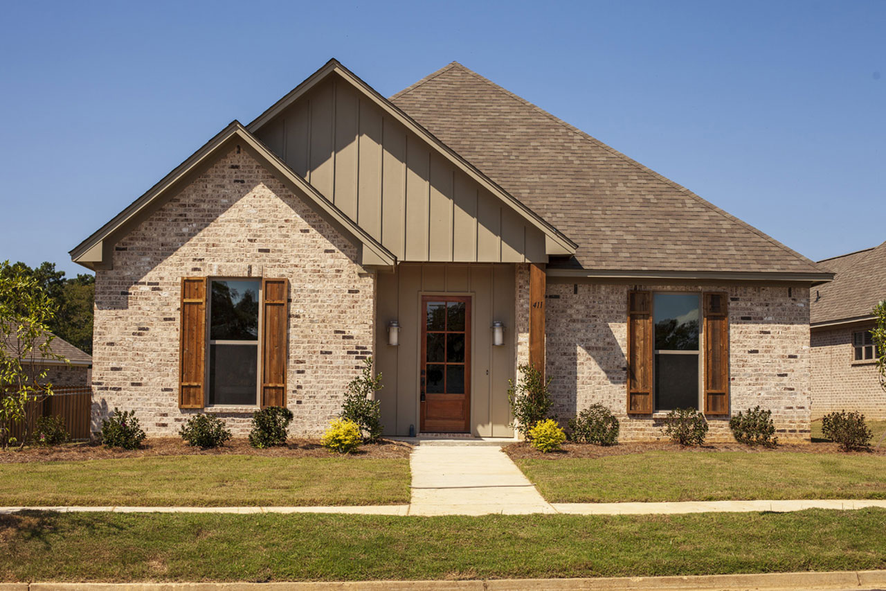 Traditional Style Home Design Plan: 56-238