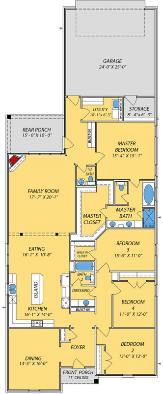 Main Floor Plan: 56-238