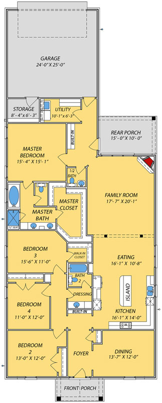 Main Floor Plan: 56-239