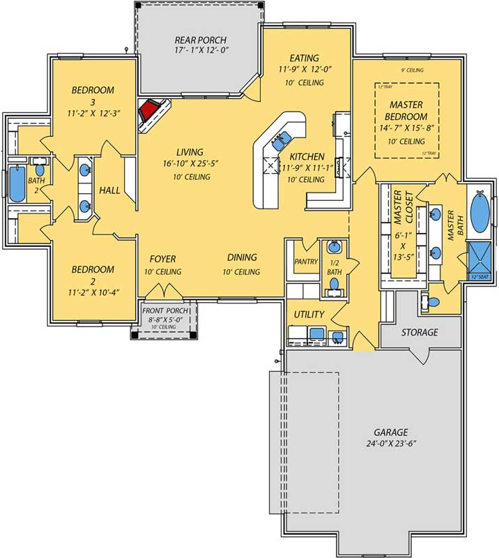 Main Floor Plan: 56-241