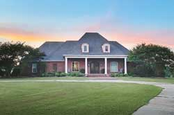 Southern Style Floor Plans Plan: 56-250