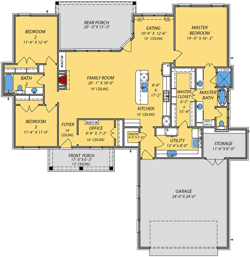Main Floor Plan: 56-252