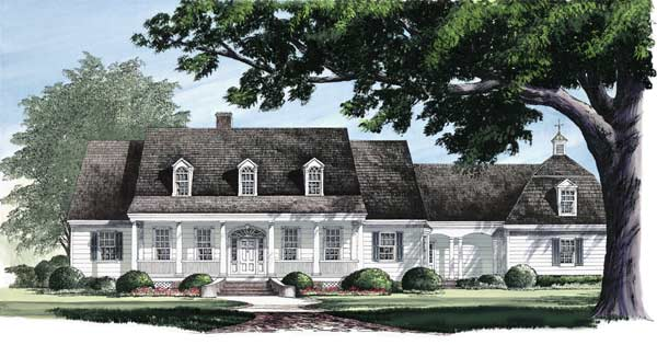 Country Style House Plans Plan: 57-101