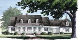 Country Style Floor Plans Plan: 57-101