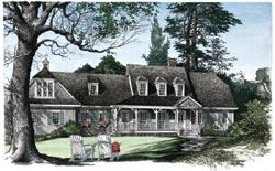 Farm Style Floor Plans Plan: 57-102