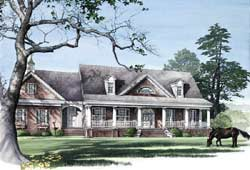 Farm Style House Plans Plan: 57-103