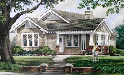 Craftsman Style Home Design 57-108