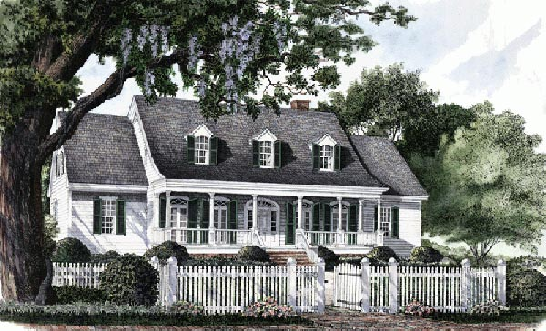 Country Style House Plans Plan: 57-122