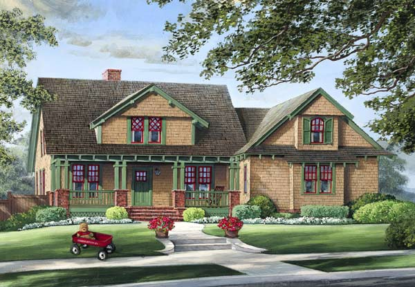 Bungalow Style House Plans Plan: 57-129