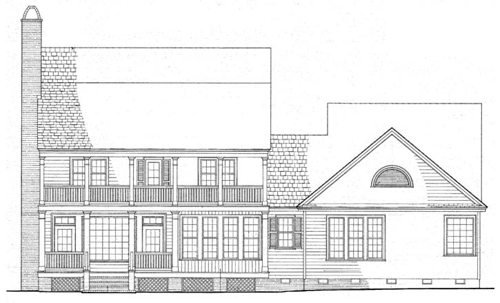 Rear Elevations Plan:57-131