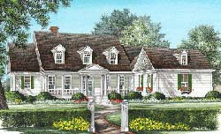 Southern Style House Plans Plan: 57-153