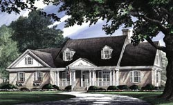 Southern-Colonial Style House Plans Plan: 57-160