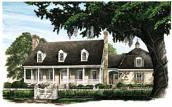 Country Style House Plans Plan: 57-161