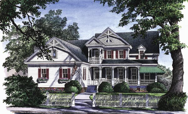 Victorian Style House Plans Plan: 57-165