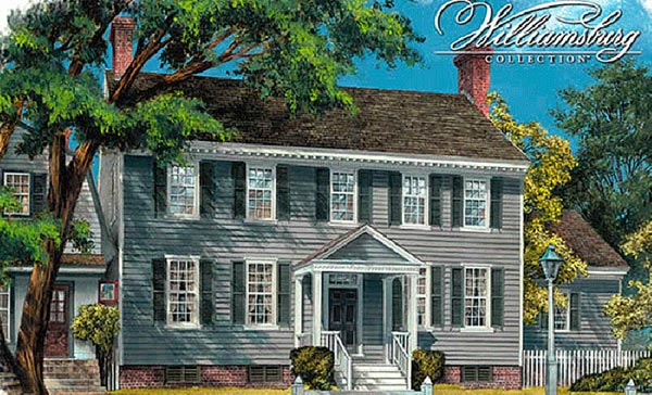 Southern-Colonial Style House Plans Plan: 57-175