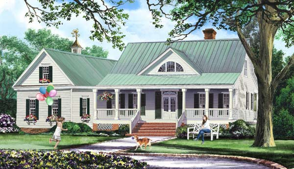 Country Style House Plans Plan: 57-177