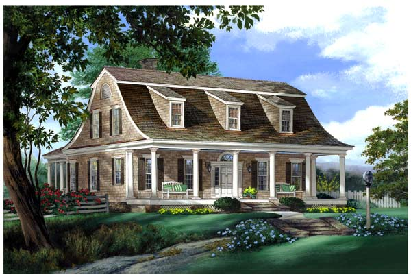 Cape-cod Style House Plans Plan: 57-179