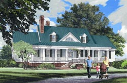 Country Style Floor Plans Plan: 57-184