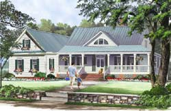 Country Style Floor Plans 57-188