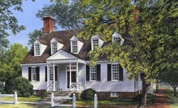 Southern Style Floor Plans Plan: 57-195