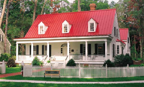 Southern Style Floor Plans Plan: 57-204