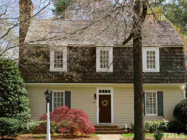Early-american Style Home Design